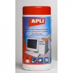 APLI Lingettes nettoyantes toutes surfaces - 100 unités