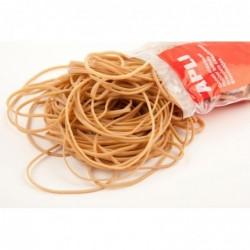 APLI Sachet de bracelets élastiques - 1 kg Ø 100 mm x 2 mm