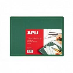 APLI Tapis de découpe en PVC 300 x 220 mm 300x220x2mm