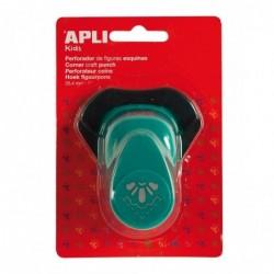 APLI Perforatrice de forme créative coin 1/2 FLeur  25,4 mm