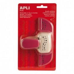 APLI Perforatrice de forme créative bordure Points  4.5 mm