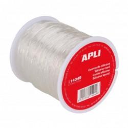 APLI Bobine de fil silicone  0,7 mm x 100 m