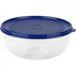 EMSA boîte alimentaire SUPERLINE, 0,4 litre, rond, bleu
