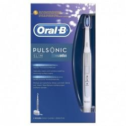 BRAUN Brosse à Dent Electrique Oral-B Pulsonic Slim Blanc
