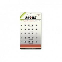 ARCAS Battery Arcas Button Cells Set AG1-AG13 0% Mercury/Hg (20 pcs.)