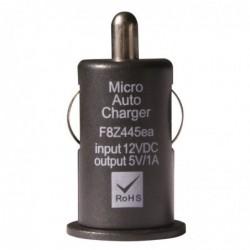 WAYTEX Mini chargeur USB sur prise allume cigare noir 1A sachet