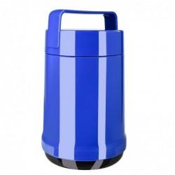 EMSA Récipient Alimentaire ROCKET isotherme 1.4L 2 compartiments 100% hermétique Bleu
