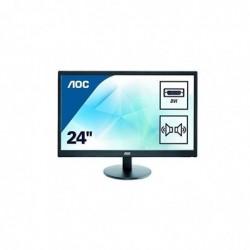 """AOC Ecran PC LED 23,6"""" (59,94 cm) 1920 x 1080 2 ms VGA/DVI Noir"""