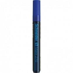 SCHNEIDER Marqueur peinture Maxx 270 Pte Ogive 2-3 mm bleu
