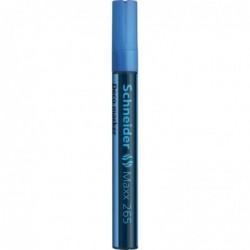 SCHNEIDER Marqueur à craie Maxx 265 Pte Ogive 2-3 mm bleu clair
