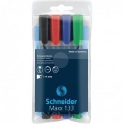 SCHNEIDER Marqueur permanent Maxx 133 assorti Pochette 4