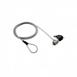 MCL SAMAR Câble de sécurité antivol MCL à encoche système à clef - 1,80m