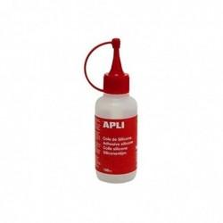 APLI Bouteille de colle silicone 100 ml