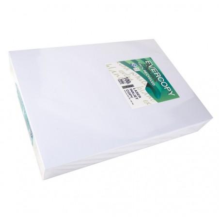 EVERCOPY Ramette 500 Feuilles Papier 100g A3 420x297 mm Certifié Ange Bleu Premium Blanc