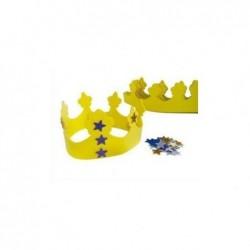OZ INTERNATIONAL Lot de 10 couronnes en mousse avec accessoires