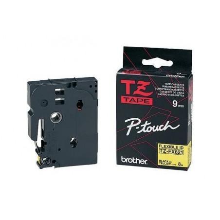 BROTHER TZe-Tape TZe-FX621 Flexi-Tape cassette à ruban