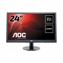 "AOC E2460SH Ecran PC LED 24 ""(61 cm) 1920 x 1080 1 ms VGA/DVI/HDMI"