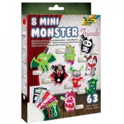 """FOLIA Petits monstres à confectionner """"Mini Monster Friends"""""""