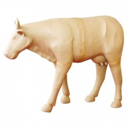 DÉCOPATCH Vache 100cm en papier maché à décorer