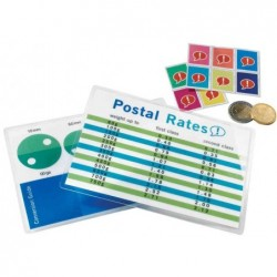 GBC Lot de 100 Pochettes format carte 83x119 mm 2x125mic brillantes
