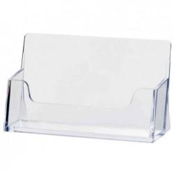HELIT présentoir pour cartes de visite, plastique,