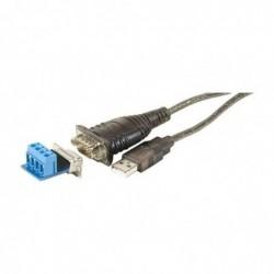 DEXLAN Convertisseur USB 2.0 Série RS485/RS422 DB9+BORNIER 4FILS