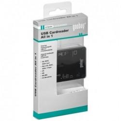 GOOBAY Lecteur de Carte All-in-one USB 2.0 Noir