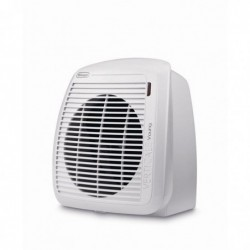 DELONGHI Radiateur soufflant 2000W, thermostat L23,8 x H25,4 x P17,7 cm blanc