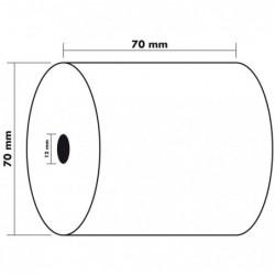 EXACOMPTA Lot de 10 Bobines 1 pli eco 60g 70x70x12 mm 42 m