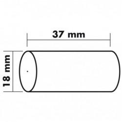 EXACOMPTA Lot de 10 Bobines 1 pli thermique 55g 37x18x0 mm 4 m
