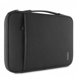 """BELKIN Sacoche pour MacBook Air et Ordinateur Portable 13-14"""" Noir"""