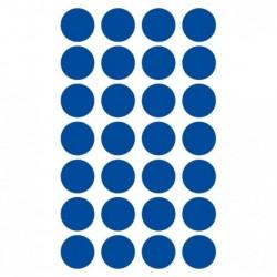 CLAIREFONTAINE Sachet 6 planches gommettes 15mn bleu foncé