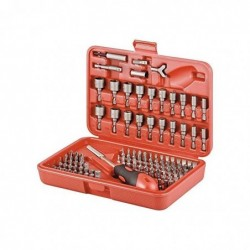 IXPOINT Bit set, 113 pcs - made by high grade S2 tool-steel for long tool life Bit set, 113 pcsbrmade by high grade S2 too...