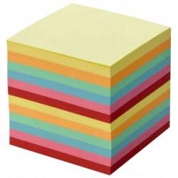 FOLIA Recharge Bloc cube 90 x 90 mm 700 feuilles Non Collées Couleur