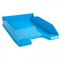 EXACOMPTA Corbeille à courrier COMBO MIDI Iderama bleu turquoise glossy