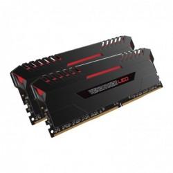 CORSAIR Barette Mémoire à LED 2x8GB DDR4-2666