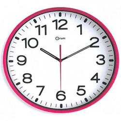 ORIUM Horloge quartz ABS SILENCIEUSE  Ø 30 cm Rose Fuschia  (1 x LR6 fournie)