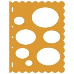 FISKARS Gabarit de découpe ShapeCutter  - Ovales