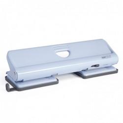 RAPESCO Perforateur en métal pour 20 feuilles 4 trous couleur bleu