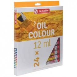 ROYAL TALENS Set de 24 Peintures à l'huile ArtCreation Expression 12ml