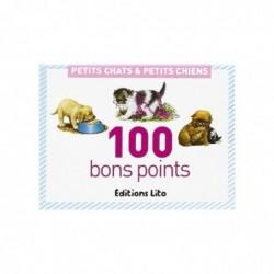 EDITIONS LITO Lot de 100 Bons points Chiens et Chats