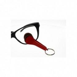 VISIOCLEAN Nettoyeur de lunettes Et Smartphone Rouge