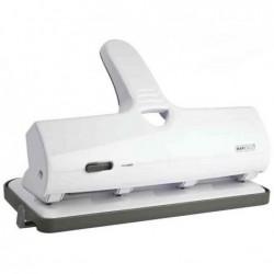 RAPESCO Perforateur grande capacité ALU 40 Métal & ABS 4 trous Blanc 40 flles