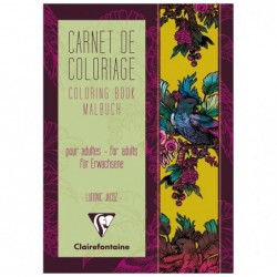 CLAIREFONTAINE Coloriage adulte, 36P A5 Tapisserie Fr
