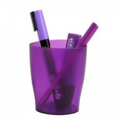 EXACOMPTA ECOPEN Pot à crayon Linicolor violet transparent