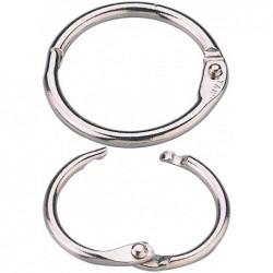 EXACOMPTA Anneaux à relier, diamètre: 38 mm Lot de 10 -20914-