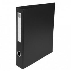 EXACOMPTA Classeur Eco-Carto, A4, 4 anneaux en D, noir
