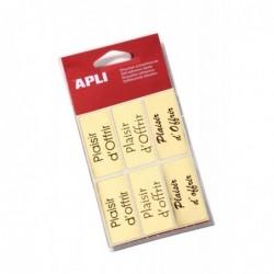 AGIPA Pochette de 18 étiquettes Plaisir d'offrir  25 x 50 mm
