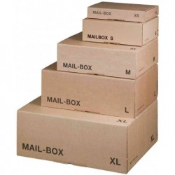 SMARTBOXPRO Paquet-carton d'expédition MAIL BOX, taille: L,