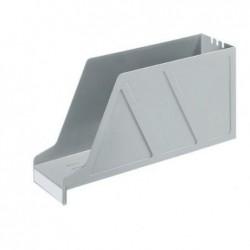 LEITZ Porte-revues Standard pour étagères Largeur 97 mm Gris